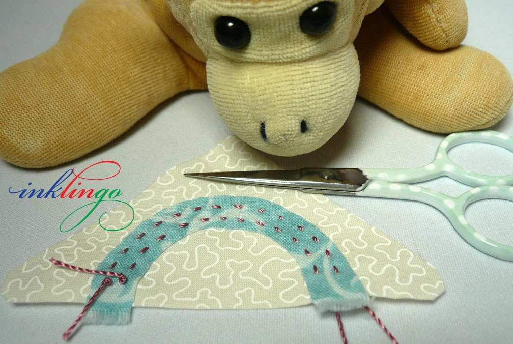 Inklingo Back-Basting Applique Lesson