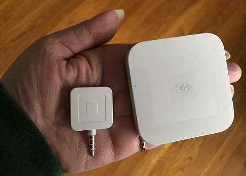 Square Reader and chip reader