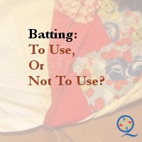 To Use, or Not To Use Batting
