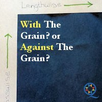 With The Grain? Against The Grain?