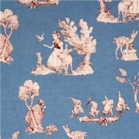 Snow White Fabric Image