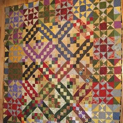 Quilt Color Complementary Example
