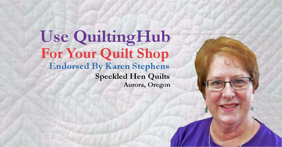 Speckled Hen Quilts Says Activate Your Membership Now