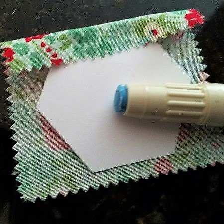 English Paper Piecing with Glue Basting 2