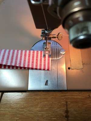 Stitching Short End