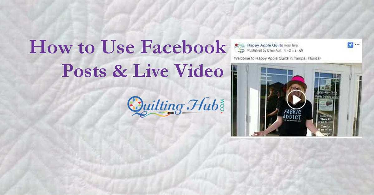 Facebook Video Posts And Live Video