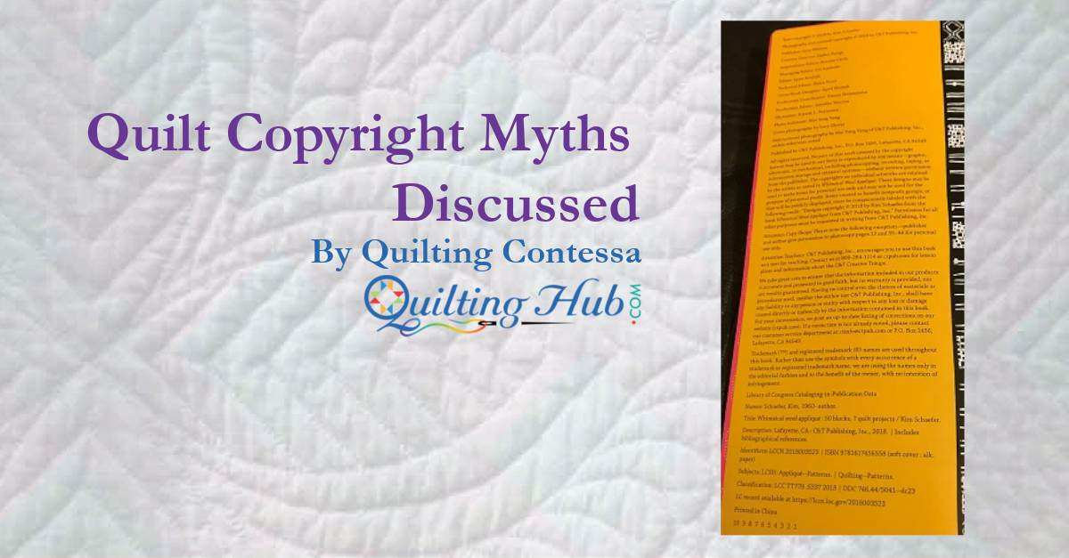 Quilt Copyright Myths