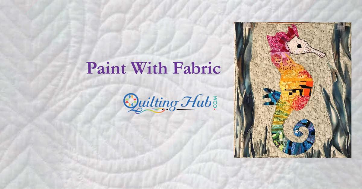 Paint With Fabric