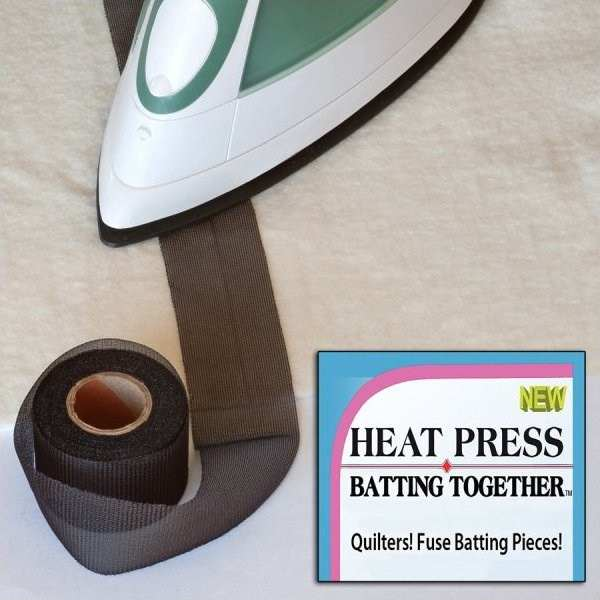 Heat Press Batting Together in Los Angeles, California on QuiltingHub