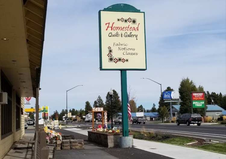 Homestead Quilts and Gallery in La Pine, Oregon on QuiltingHub