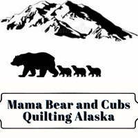 Mama Bear and Cubs Quilting Alaska in Palmer