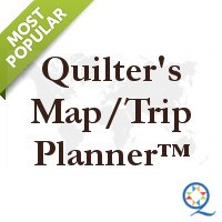 Quilters Trip Planner - Shops, Shows, & More!
